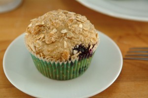 Best Blueberry Whole Grain Muffins