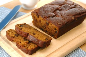 Skinny Chocolate Chip Pumpkin-Banana Bread