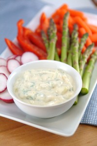 Eat Your Drink – Cucumber Herb Veggie Dip (Tzatziki)