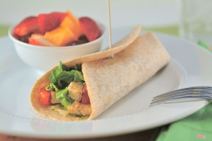 Skinny Chicken Casesar Salad Wrap & My Giveaway Winners!