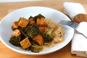 Probiotic Power Plate – Tempeh and Asparagus Stir Fy