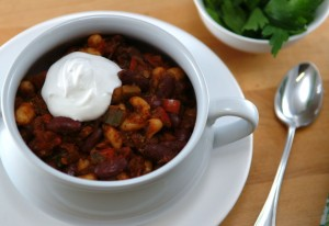Skinny Veggie Chili and Ask Ashley!