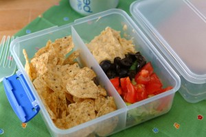 Skinny Office Snacks – Mediterranean Nachos