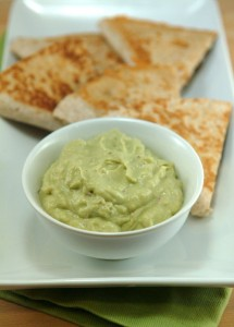 Leftover Turkey Quesadillas with Creamy Avocado Dip