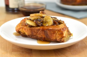 Skinny Caramelized Banana French Toast