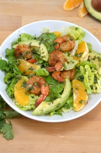 Shrimp and Avocado Citrus Salad