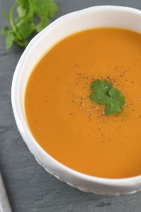 Creamy Chipotle Sweet Potato Soup